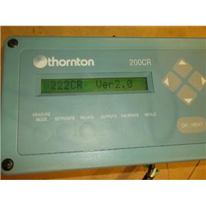 THORNTON CONDUCTIVITY RESISTIVITY METER 200CR 90-130 VAC, 1 PHASE