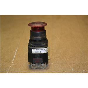 Allen-Bradley 800H-FXTP16 A1 Push-Pull/Twist Button Ser F, 1 NO, 1 NC Contact