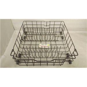 GENERAL ELECTRIC DISHWASHER WD28X10386 LOWER RACK USED