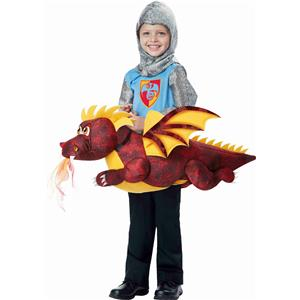 Dragon Rider Toddler Costume Size 3T-6