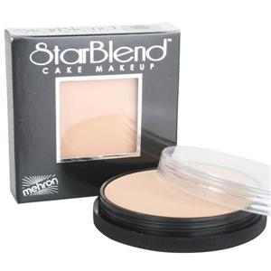 Mehron StarBlend Cake Foundation Professional Makeup Medium Olive 2oz