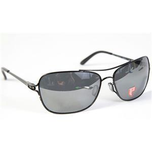 Oakley Conquest Sunglasses Polished Black/Black Iridium Polarized