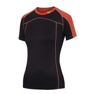 Giant Liv Passion Women's Jersey Charcoal/Coral Medium