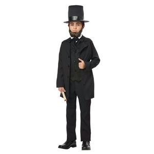 Abraham Lincoln Frederick Douglas Andrew Jackson Child Costume Size Medium 8-10