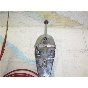 Boaters' Resale Shop of Tx 1603 2442.04 MORSE SINGLE LEVER CONTROL W/ 15' CABLES