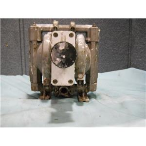 """WILDEN DOUBLE DIAPHRAGM PUMP 01-3181-20 1/4"""" INLET AND OUTLET"""