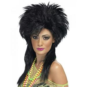 Groovy Punk 80's Chick Wig