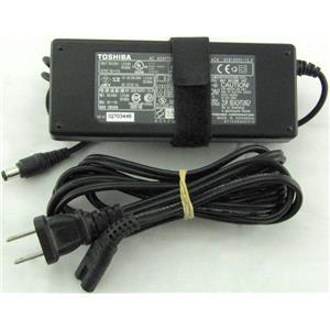 Toshiba AC Adaptor 15V 5A PA3201U-1ACA w/Power Cord Tested
