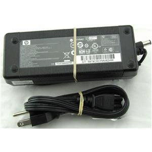 HP AC Adapter 18.5V 6.5A 120W 384023-002 PPP017H w/Power Cord Tested