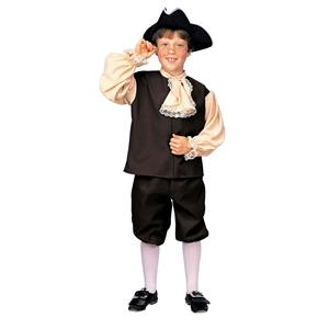 Rubie's Boy's Colonial Boy or Benjamin Franklin Child Costume Size Small 4-6