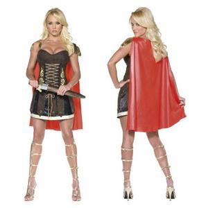 Smiffys Women's Fever Sexy Gladiator Adult Ladies Costume Size Medium 10-12
