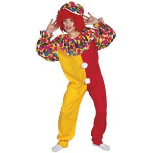 RG Costumes Boys Circus Clown Child Costume Jumpsuit and Hat Size Medium 8-10