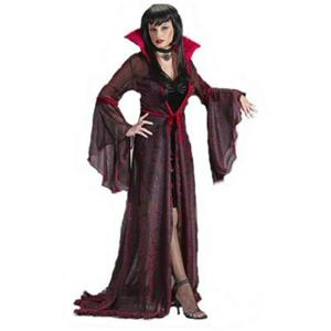 Fun World Women's Shimmering Rose Vampiress Costume Size S/M 2-8