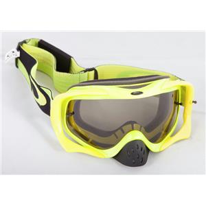Oakley Crowbar MX Goggle Heritage Racer Green W/ Dark Grey