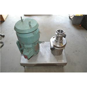 Tri Clover Tri Blender F3218MD-S, Stainless Steel, 3P, 1755 RPM, 230/480V, 15HP
