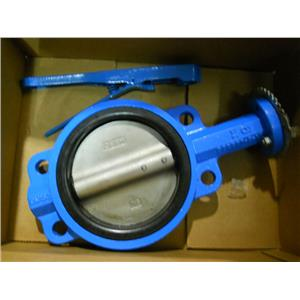 "NEW MUELLER STEAM SPECIALTY 6"" BUTTERFLY VALVE- D1 BODY"
