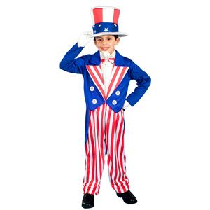 Forum Novelties Uncle Sam Patriotic Child Costume 4th of July Size Large 12-14