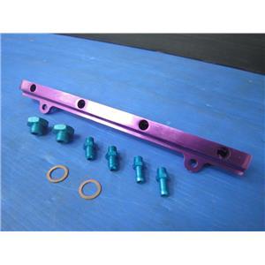 for Mitsubishi LANCER 91-95 MIVEC GSR 4G92 4G93 UPGRADE RACING FUEL RAIL ADAPTER