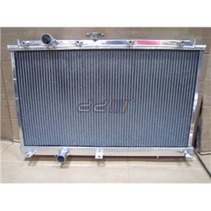 DD Racing Aluminium Radiator Fit Mitsubishi EVO 4 5 6 4G63 Turbo CN9A 2 Row 40mm
