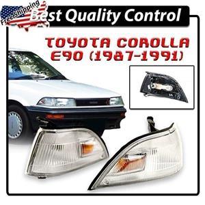 New Corner Indicator Side Lamp Light Toyota Holden Nova Corolla E90 AE90 87-91