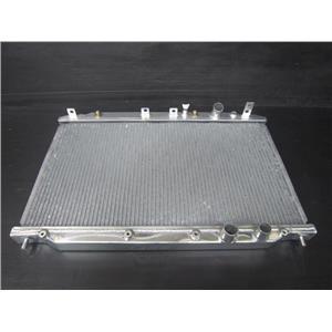 DD 1 ROW ALUMINUM RACING RADIATOR for 06-11 HONDA CIVIC FD1 R18A 4CYL
