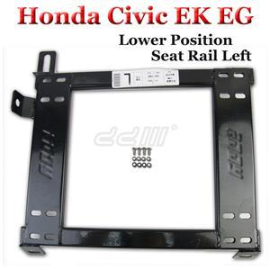 Honda Civic Lower Position Seat Rail EG EK Driver Side Left Recaro Sparco Bride