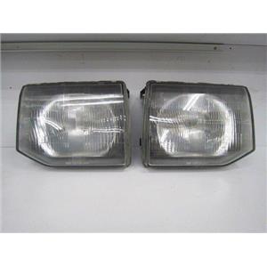 JDM FIELD MASTER GLS HEAD LIGHT LAMP for 91-00 Mitsubishi MONTERO PAJERO