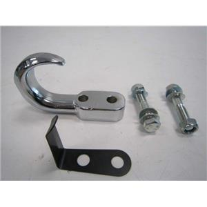 New ~Tow Hook Chrome Universal 4X4 Jeep Ford Chevy Truck Dodge Off Road Recovery