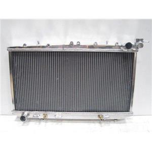 New DD RACING 40MM 2 ROW Alluminium Radiator For Sentra Sunny B14 95-99