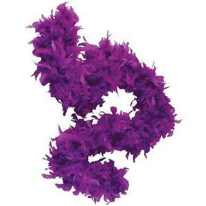 "72"" Purple Feather Boa Great Flapper Costume Accessory"