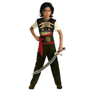 Boy's Prince of Persia Dastan Movie Classic Child Costume Small 4-6