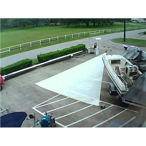 North Sails Jib w Luff 49-6 Foot 19-10 Boaters' Resale Shop of Tx 1605 2754.97