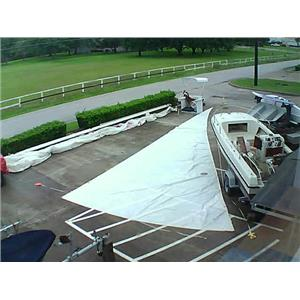 North Sails RFJib w Luff 51-8 Foot 19-3 Boaters' Resale Shop of Tx 1605 2754.96