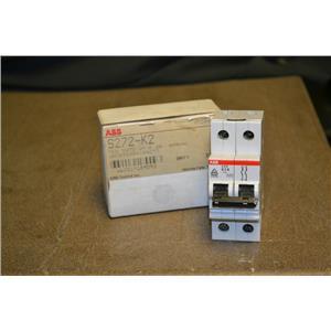 ABB S272-K2A CIRCUIT BREAKER 2 POLE 400VAC 2A