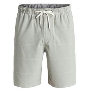 """Quiksilver Men's Belmont 20"""" Amphibian Shorts Grey L"""