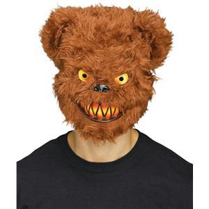 Fun World Killer Furry Brown Bear Adult Costume Mask