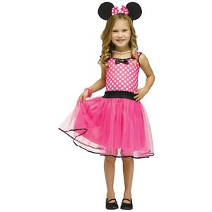Fun World Costumes Girl's Missy Mouse Child Costume Size XL 4-6