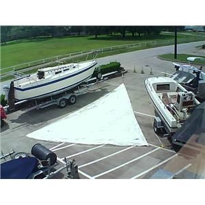 Boaters' Resale Shop of Tx 1605 2751.95  H O jib  luff 35-3 Foot 20-0