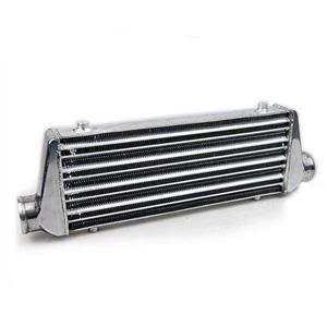"31""x13""x3"" Aluminum Plate Front Mount Intercooler 600x300x76 Inlet Outlet 3"""