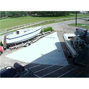 North Sail RF Jib w luff 52-0 Foot 26-3 Boaters' Resale Shop of Tx  1605 2754.93