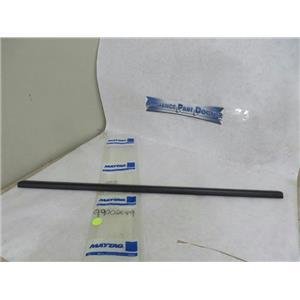 MAYTAG WHIRLPOOL DISHWASHER 99002649 TRIM STRIP (BLK) NEW