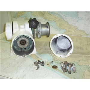 Boaters' Resale Shop of Tx 1606 0224.01 LARGE WINDLASS NO MOTOR FOR PARTS ONLY