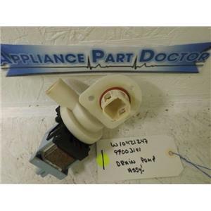 MAYTAG JENN-AIR DISHWASHER W10421247 99003141  DRAIN PUMP ASSY'. USED
