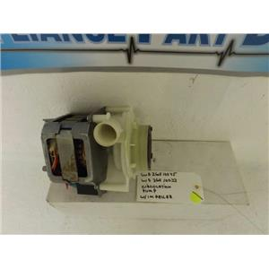 GE HOTPOINT DISHWASHER WD26X10045 WD26X10033 CIRCULATION PUMP W/IMPELLER USED