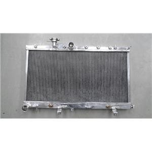 2~Rows Aluminium Racing RadiatoR FOR Subaru Impreza Wrx STi GDB Ej20 Turbo 01-07