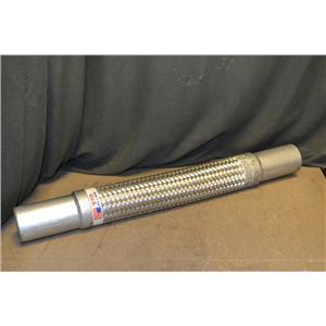 """2"""" Flexible Braided Hose, Fuel Flex Flex-Hose, 175 PSI"""