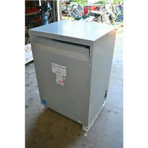 Federal Pacific 112.5 KVA Transformer T4T112E Pri: 480V Sec: 208/120V Imp. 5.07%