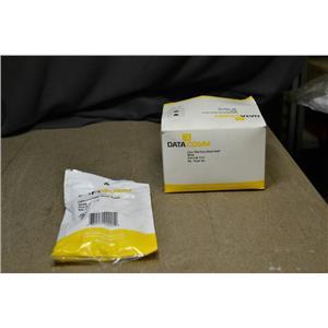 (Box of 9) Datacomm 40-1512 Coax Telephone Wall Plate White