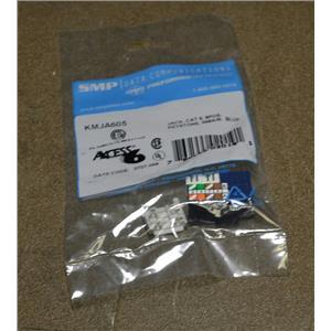 (Lot of 45) SMP KMJA605 Cat 6 Keystone Jack 110 Interface - Blue
