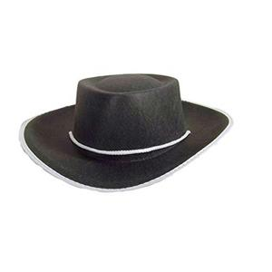 Jacobson Black Felt Child Cowboy Costume Hat Large